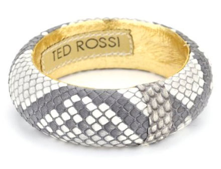 Ted Rossi Classic Small Python Bangle Bracelet