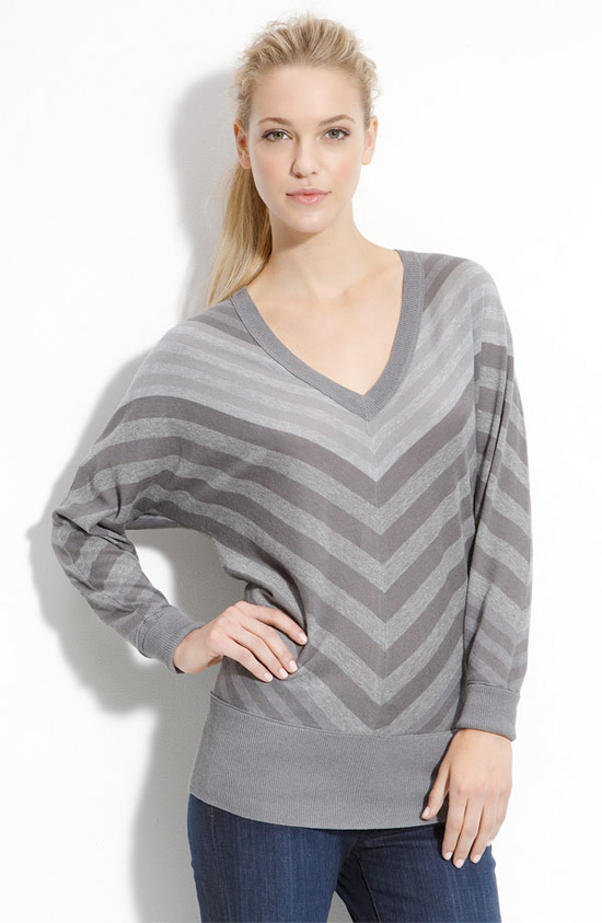 Caslon V-Neck Dolman Sleeve Sweater