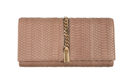 Christian Louboutin Catalina Watersnake Clutch