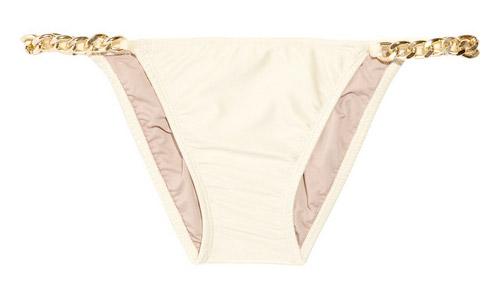 Babajaan Pam Chain-trimmed Bikini Briefs