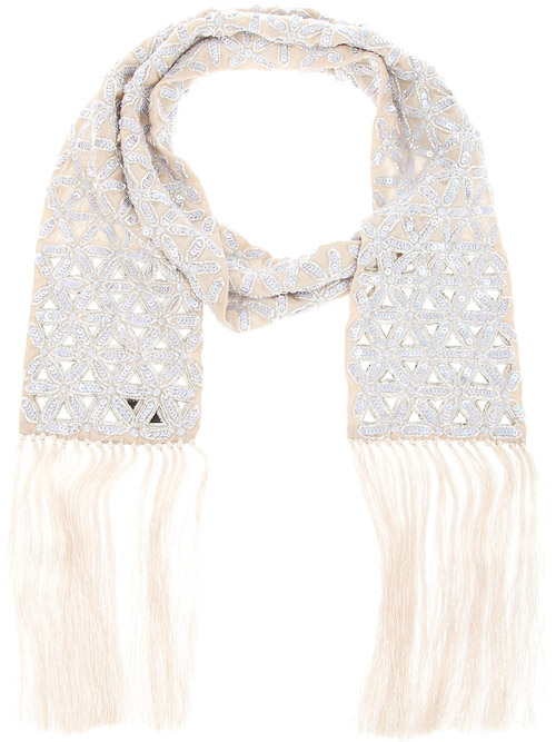 Dries Van Noten Sequin Embellished Scarf
