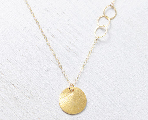 Sun Drop Necklace by Petitor