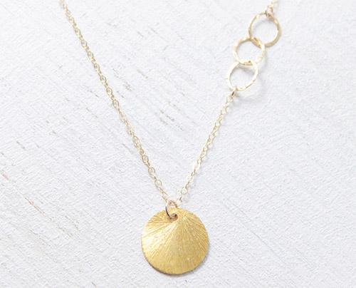 Sun Drop Necklace by Petitor