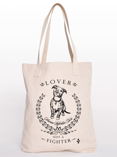 Pit Bull Canvas Tote
