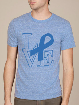 Support Prostate Cancer Unisex Crew Neck Tee