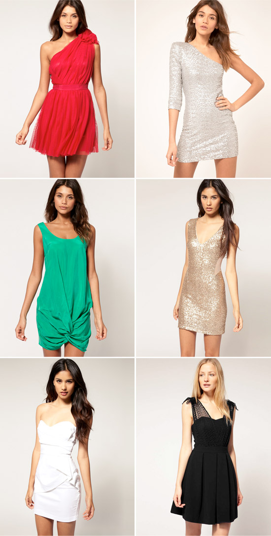 Cocktail Dresses for the Holidays and New Years Eve