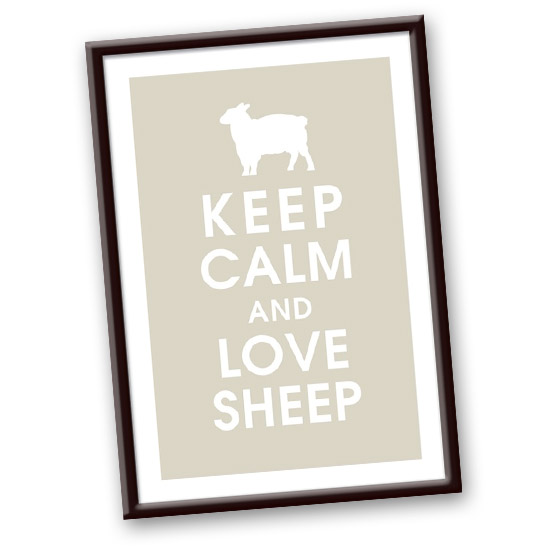 Keep Calm and Love Sheep