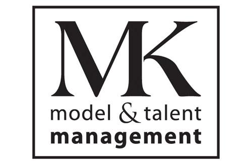 MK Model & Talent Logo Design